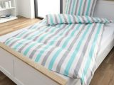 Micro Biber Bettwsche Country 135×200 Grau Trkis Dnisches with regard to size 960 X 960