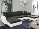 Schlafsofa Sofa Couch Ecksofa Eckcouch Weiss Schwarz Schlaffunktion pertaining to proportions 2500 X 1665