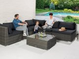 Stilvoll Rattan Sitzgruppe Gnstig Edle Design Alu In And Out Lounge throughout proportions 1500 X 911